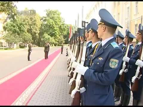 Визит начальника Генштаба Вооруженных Сил Армении