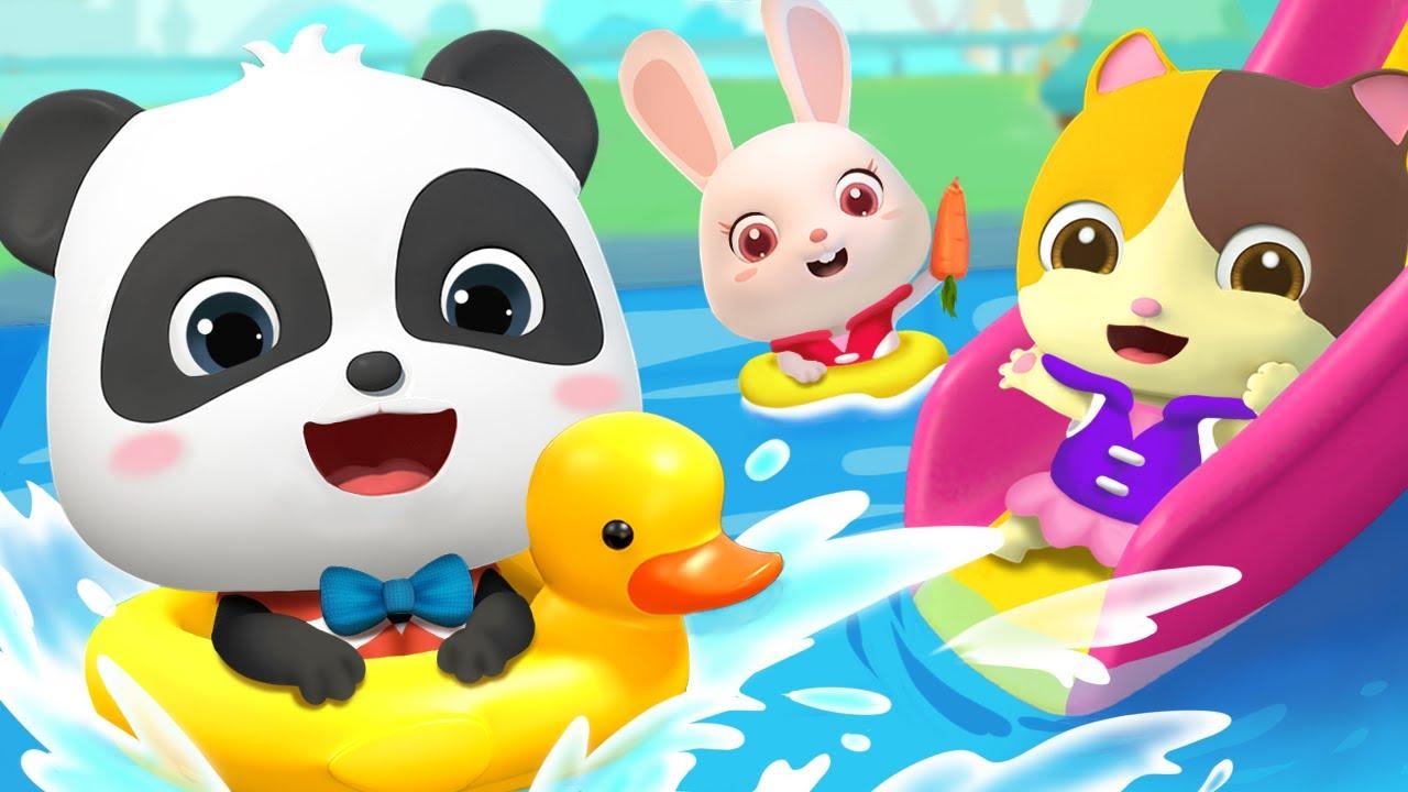 Cinco Pequeños Niños Nadan Doo Doo Doo | Canciones Infantiles | BabyBus Español