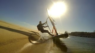 Speed Windsurfing at Harrington NSW