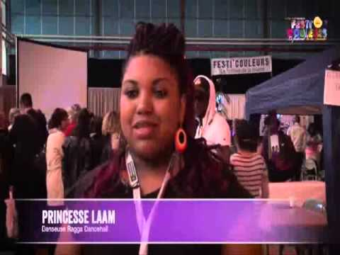 Interview pour festi'couleur Princess'Laam 2013
