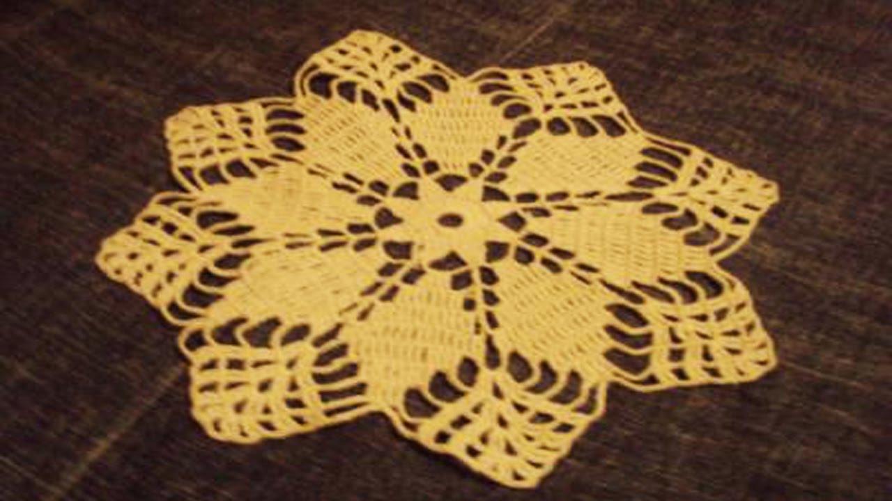 Tapetes tejidos en crochet youtube for Tapetes de crochet