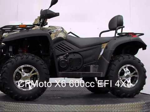 CF-Moto X6 600cc EFI 4X4 - YouTube