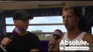 James Morrison Full Interview: 2009 V Festival on Absolute Radio