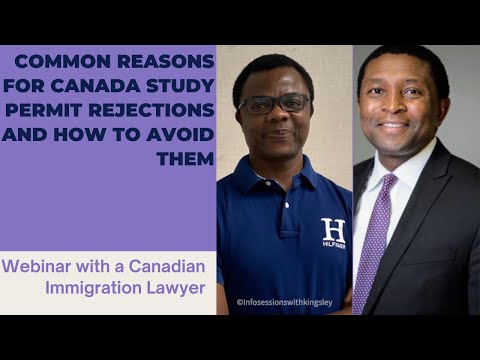 AN IMMIGRATION LAYWER EXPLAINS COMMON REASONS FOR STUDY PERMIT REFUSAL AND HOW TO AVOID THEM