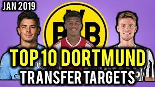 TRANSFER NEWS! TOP 10 Borussia Dortmund TRANSFER TARGETS January 2019 ft Nerez, Diaz & Rugani