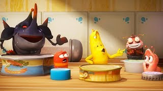 LARVA - DRUM BAND | Cartoon Movie | Cartoons For Children | Larva Cartoon | LARVA Official