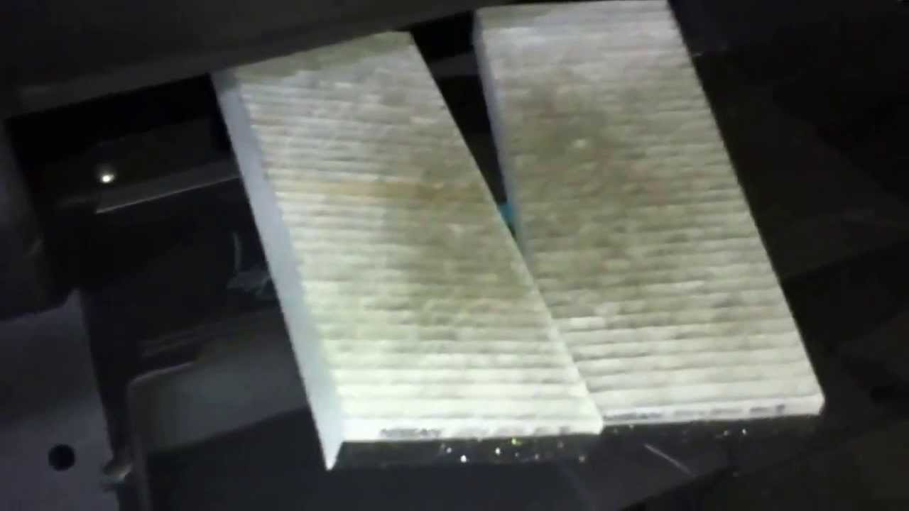 Nissan Navara D40 Pollen Filter Replacement