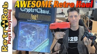 Retro and Modern Haul. Atari Games, Nintendo and More!