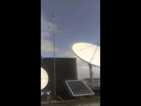 KSU Live Stream Wind Turbine and Solar Panels