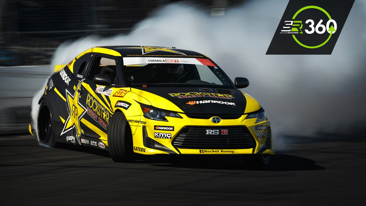 Scion Tc Drift With Formula Drift Champion Fredric Aasbo