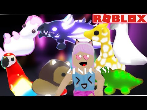 Making 21 NEON Pets! | ROBLOX Adopt Me (5k Subscribers Special)