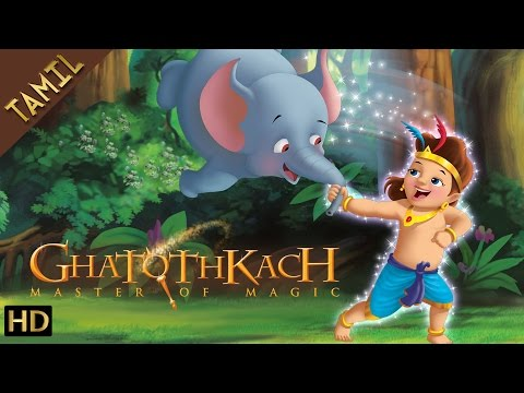Ghatothkach (Tamil) - Exclusive Full Length Movie - Animated Movies for Kids - HD