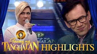 Watch how Madlang people laugh at Vice Ganda's remark on Rey Valera...
