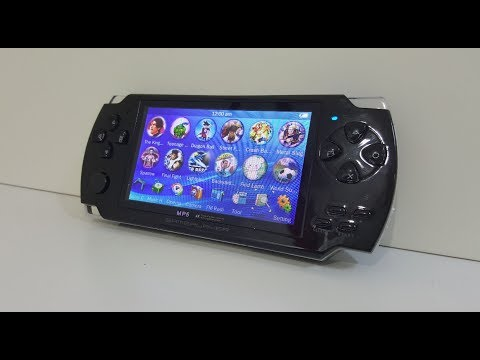 4.3 Inch Handheld Video Game System with FM Radio Review Video
