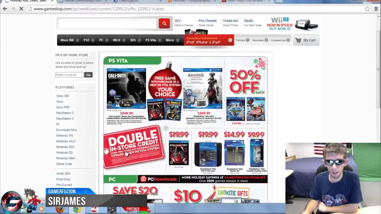 GameStop Christmas Holiday Buyer Guide Sale - YouTube