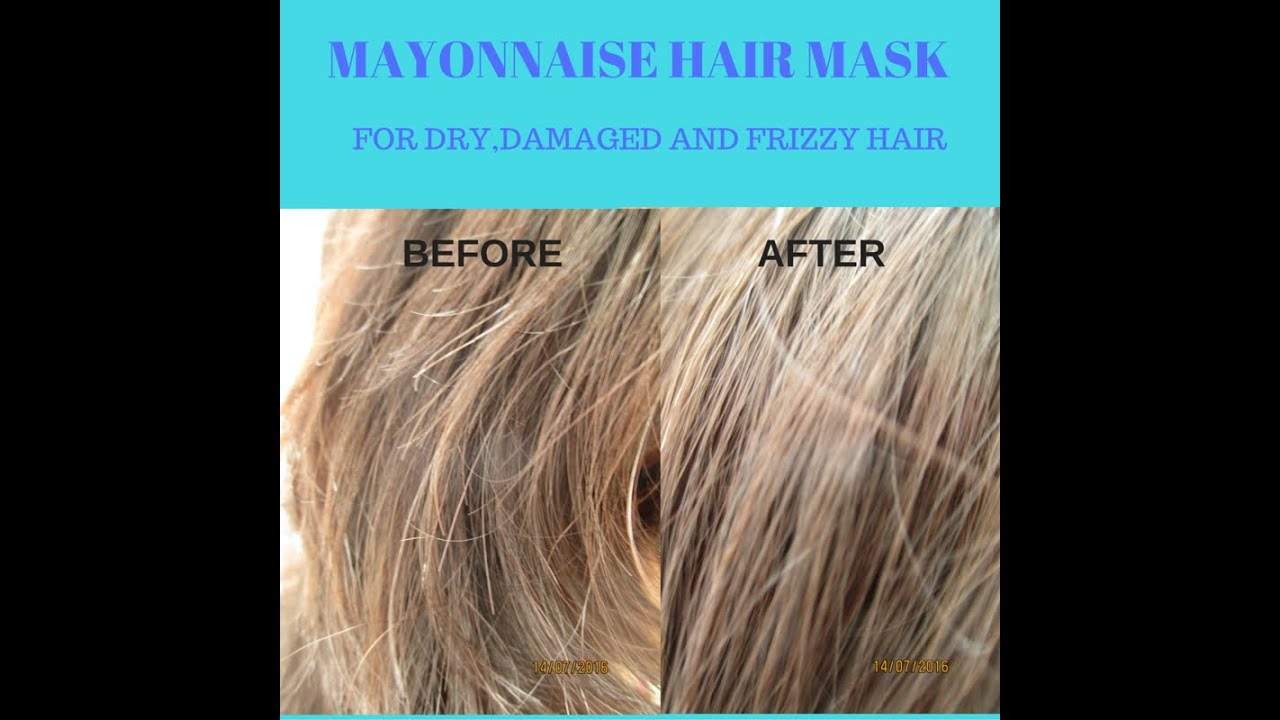 mayonnaise hair mask dry damaged