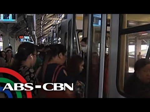 TV Patrol: LRT-1 umandar nang bukas ang pinto; pasaherong mapilit nasisi