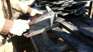 Эко-Структура. Подготовка сланца для монтажа дикой кладкой(, 2016-01-15T06:11:42.000Z)