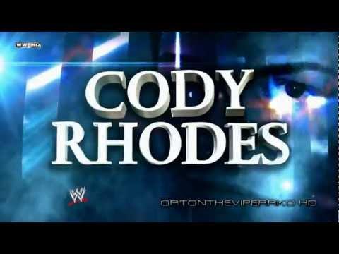 "WWE 2012: Cody Rhodes New Theme and Titantron (V2) - ""Smoke And Mirrors"" (V2) [CD Quality + Lyrics]"