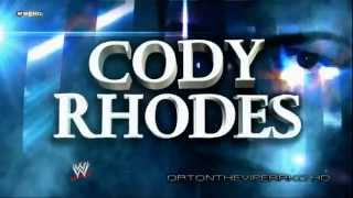 "WWE 2012: Cody Rhodes New Theme and Titantron (V2) - ""Smoke And Mirrors"" (V2) [CD Quality + Lyrics]"