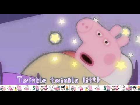 Peppa Pig Twinkle, Twinkle, Little Star Song - Nursery Rhymes for Kids