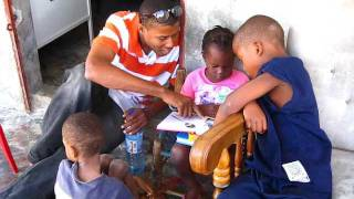 bon repo: aldy reading with the kids