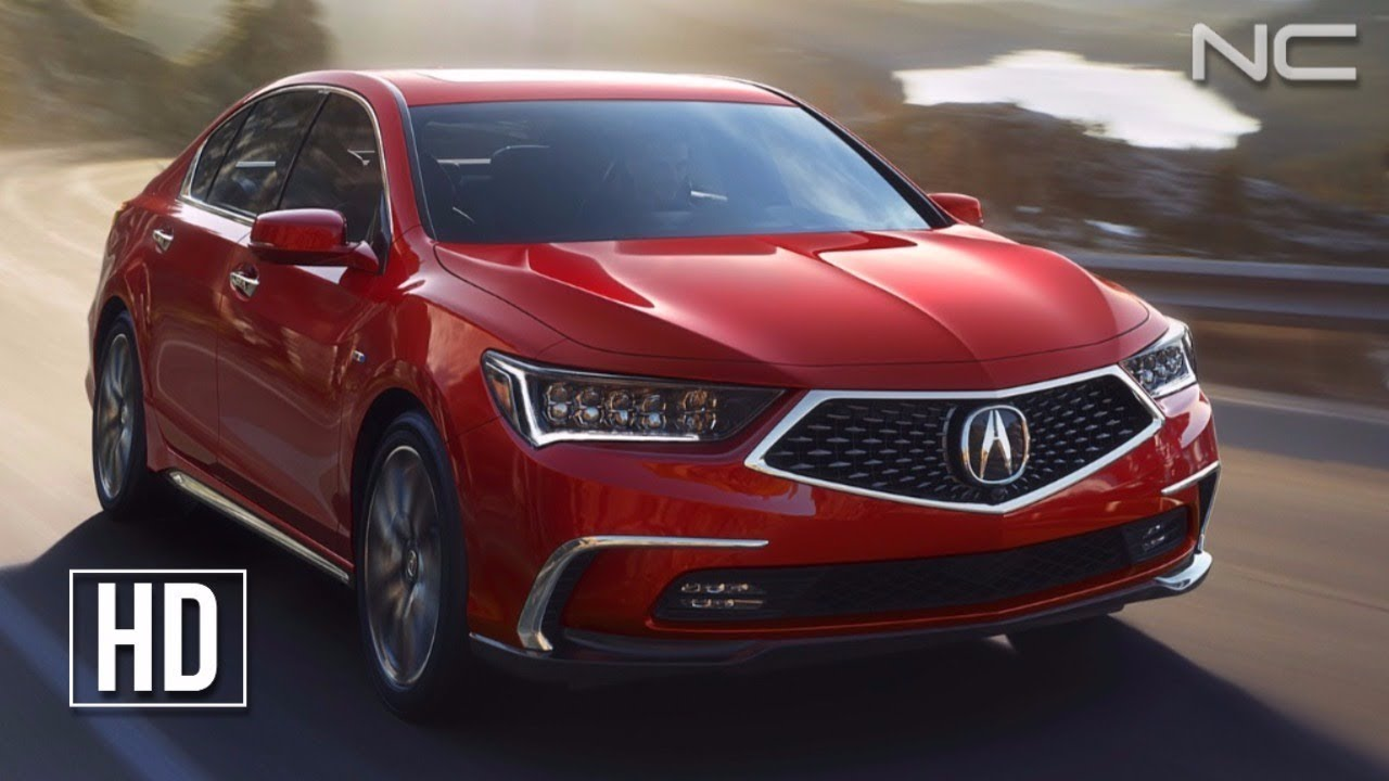 2018 Acura Rlx Sh Awd First Look
