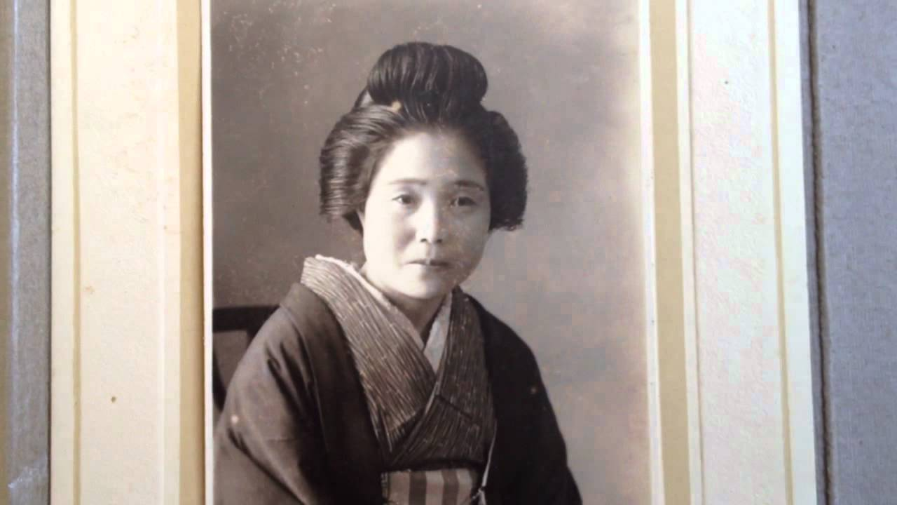 Old Japan Photo Nihongami Old Japan Hair Style Youtube