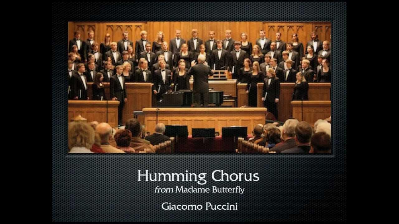 Puccini: Humming Chorus (The Hastings College Choir)