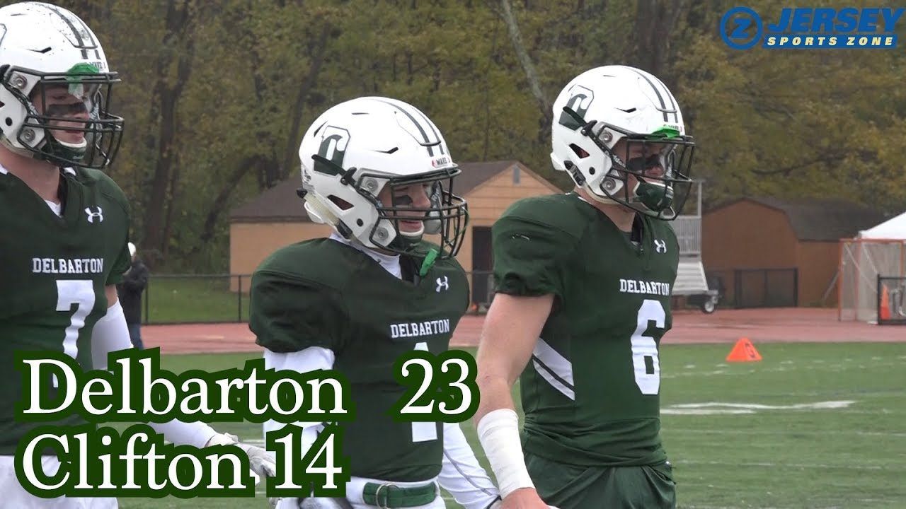 Delbarton 23 Clifton 14 Youtube