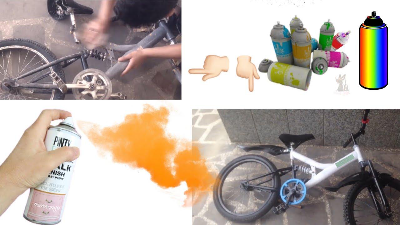 Hurdaliktan 5tl Aldgim Bisikleti Spreyle Boyama How To Paint