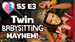 "The Happy Family Show - S5 E3 ""Twin Babysitter MAYHEM!""   The Barbie Happy Family Show"
