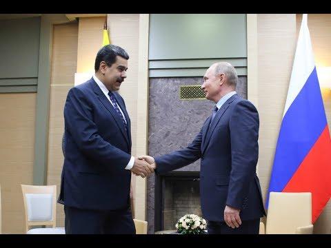 Presidentes Maduro y Vladimir Putín se reúnen en Moscú, 4 diciembre 2018