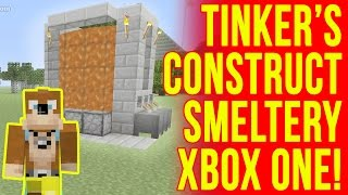 Minecraft Tinkers Construct How To Build A Smeltery