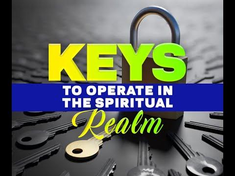 Download Keys to Operate in the Spiritual Realm   Apostle John Kimani William