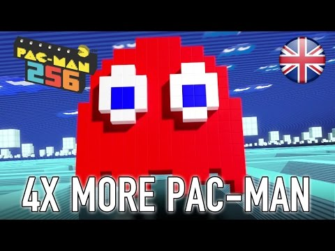 PAC-MAN 256 - PS4/X1/PC - 4 Times More Pac-Man! (Release Trailer)