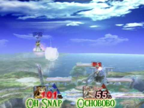 Ochobobo (Dark Zelda) vs. Oh Snap (Green Zelda)