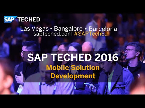 Mobile Solution Development at SAP TechEd in Bangalore 2016