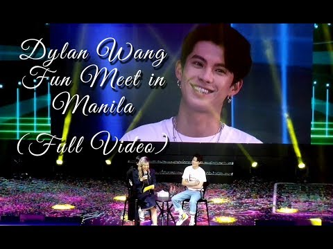 Dylan Wang (王鹤棣) Fun Meet In Manila 2019 (Full Video) + Signed Shirt Give Away