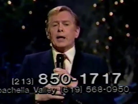 Johnnie Ray--Cry, 1983 March of Dime Telethon
