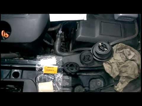 Seat Toledo / сеат Толедо 2001г.в. / замена масла в мкпп и замена уплотнительных колец крышки ....