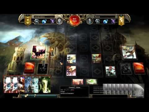 Might and Magic Duel of Champions - gameplay