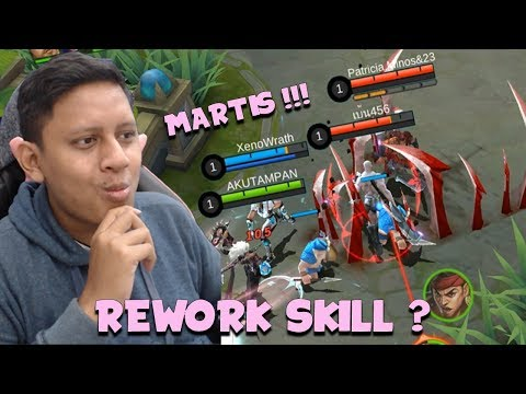 REWORK SKILL MARTIS ?! MAKIN GILA ?! - Mobile Legends Indonesia