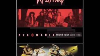 Def Leppard Billy's Got A Gun Live 1983