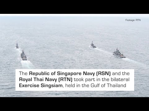 RSN & Royal Thai Navy in Bilateral Maritime Exercise (Ex Sin