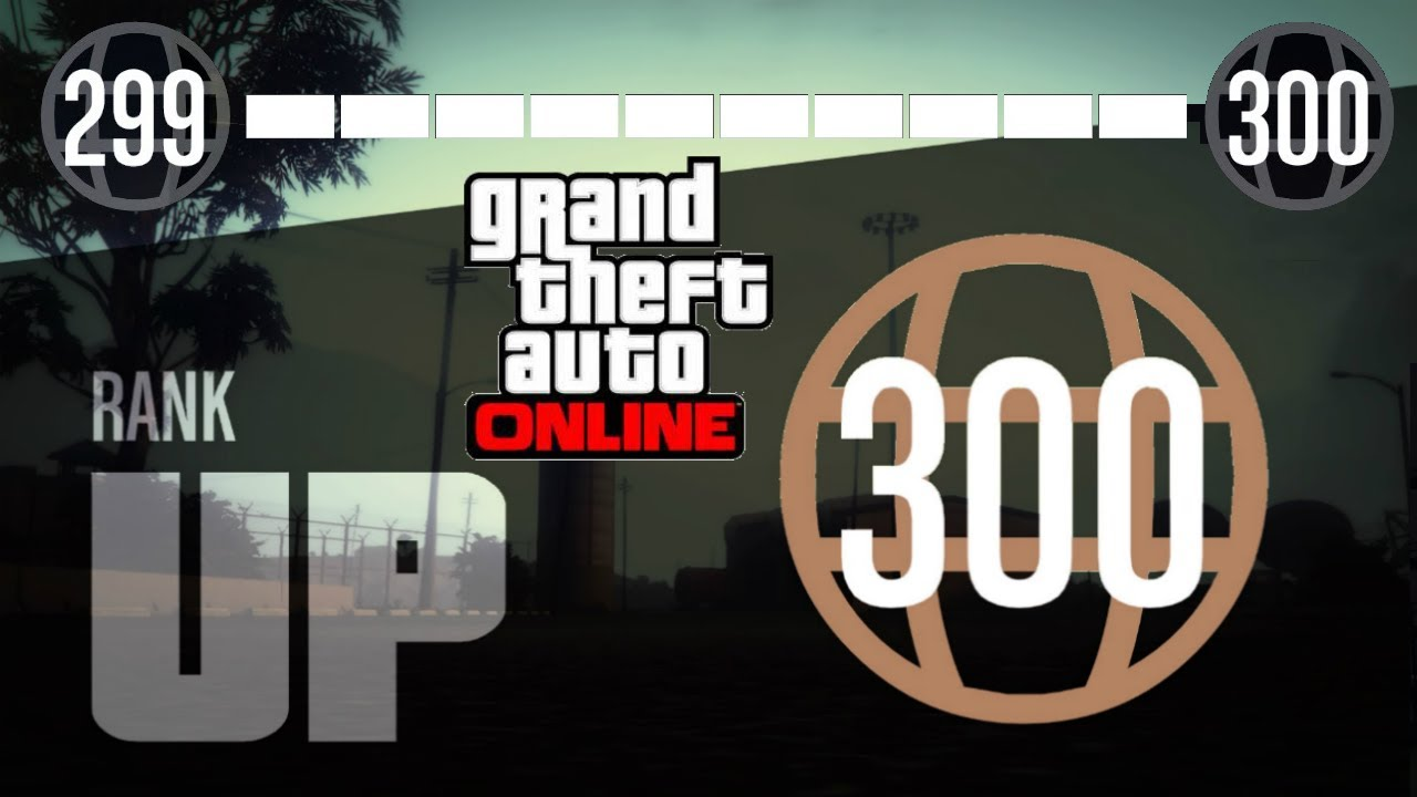 gta 5 how to get past rank 1