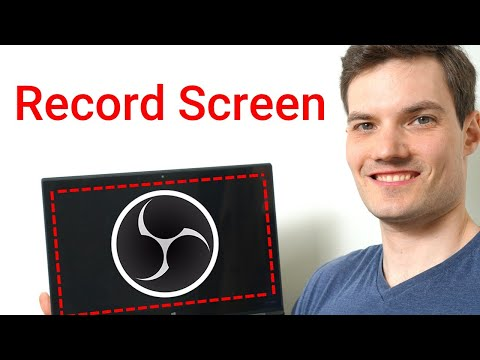 How to Record Screen on PC for FREE using OBS
