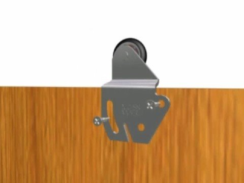 Animacion ducloset youtube for Riel para puerta corrediza