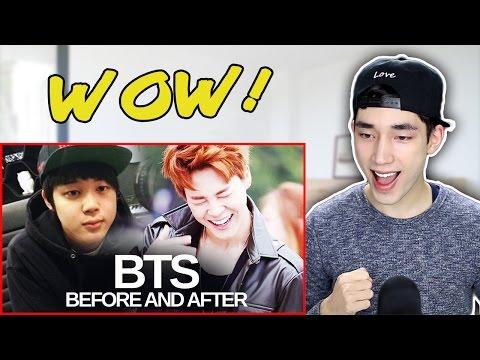 BTS - Predebut vs Now REACTION