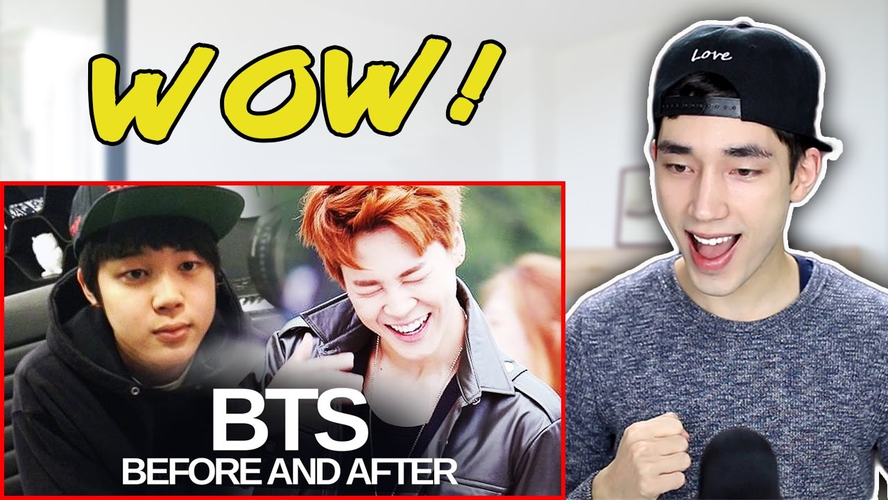 BTS - Predebut vs Now REACTION
